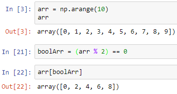 Data Science & Machine Learning - 3 4 NumPy Array Indexing