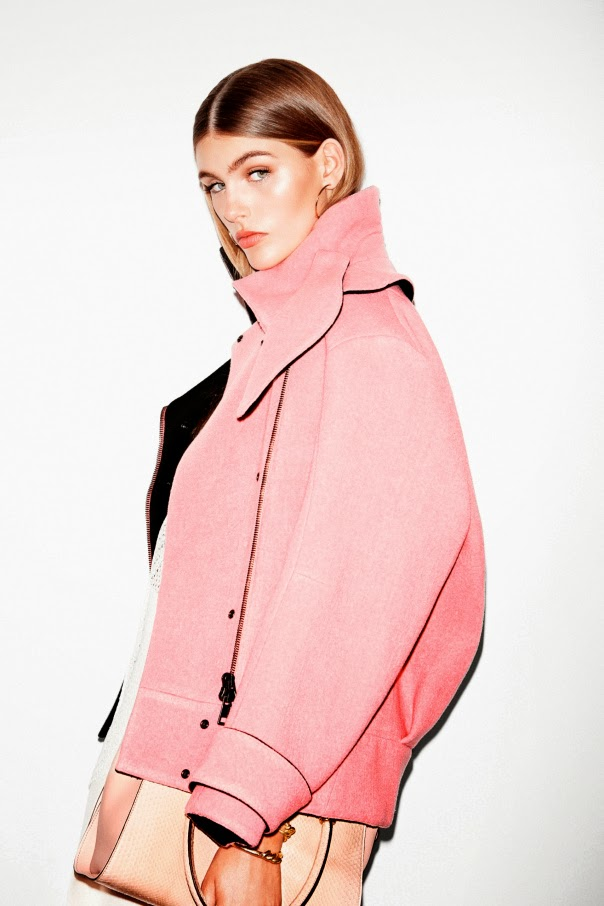 Editorial Fashion | Clothes That Are Black, White and Pink ...