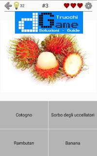 Soluzioni Frutti, verdure e noce livello 3