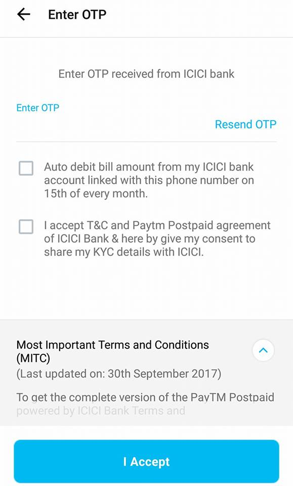 Apply For Paytm Postpaid Service & Get Rs 10000 Credit Each Month