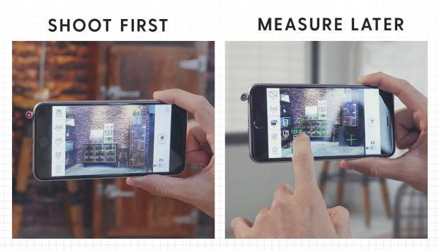 2 - Ini iPin, Penggaris Laser Canggih untuk iPhone