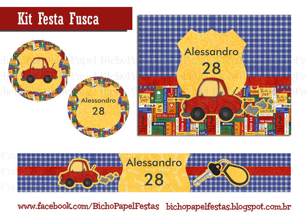 Kit Festa Fusca