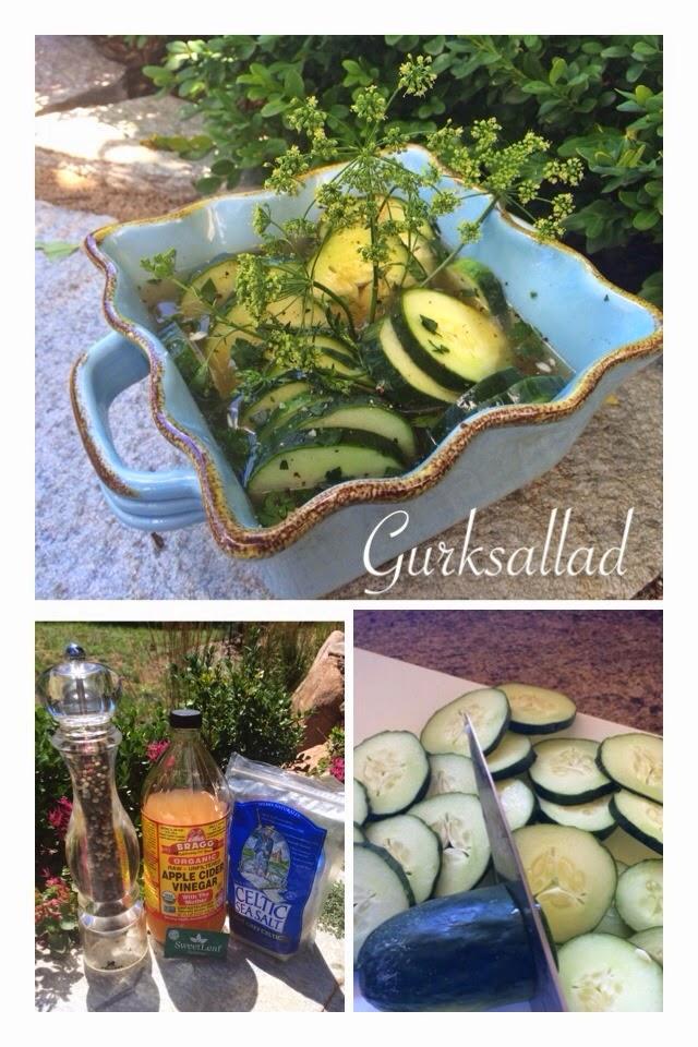 As Easy As Salt and Pepper: Grandma's Cucumber Salad