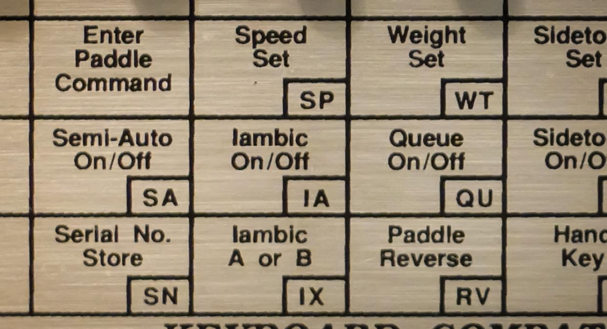 Ham Radio - QRP: Squeeze Keying - Iambic mode operation