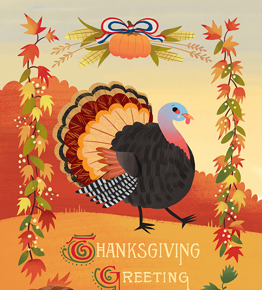 New! Thanksgiving Greeting Cards