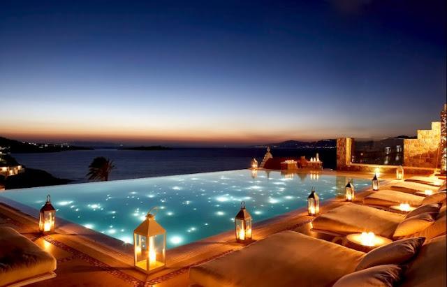 Menginap di Bill & Coo Suites, Mykonos, Yunani