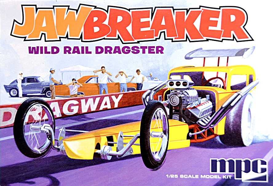 Scale Model News: CLASSIC MPC JAWBREAKER DRAGSTER TO 1:25 SCALE