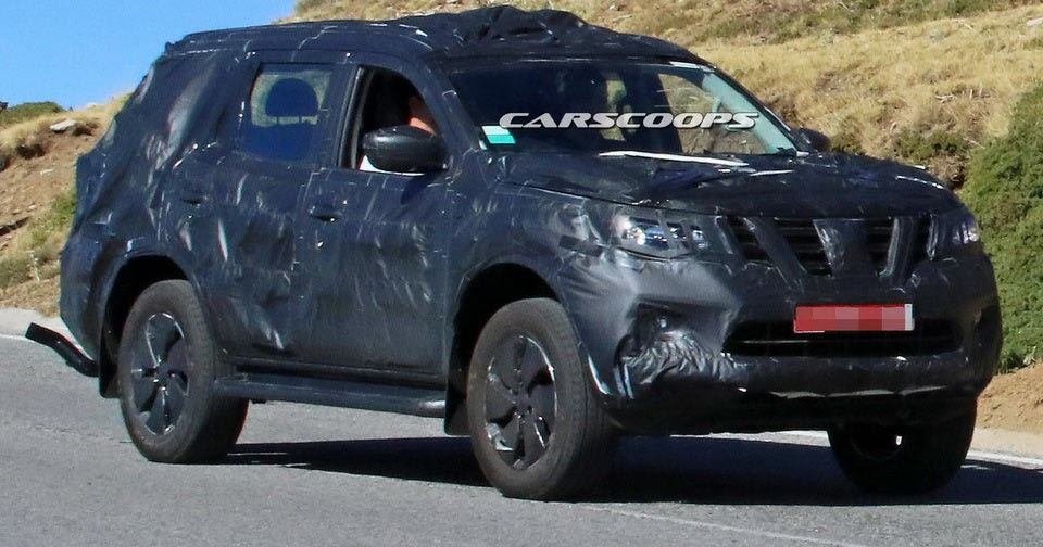 New Nissan Navara-Based SUV Spied: Could This Be The Next ...
