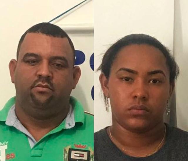 Tio e sobrinha foram presos por estelionato no sudoeste da Bahia (Foto: Divulgação/Polícia Civil)