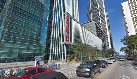 Bà Pierre đã làm việc cho khách sạn Conrad Miami trong 10 năm