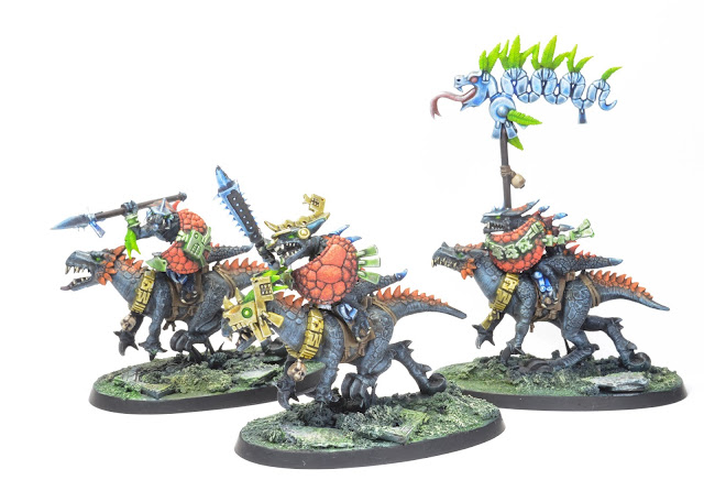 4 Saurus Knights Warhammer Age of Sigmar AoS Seraphon Lizardmen