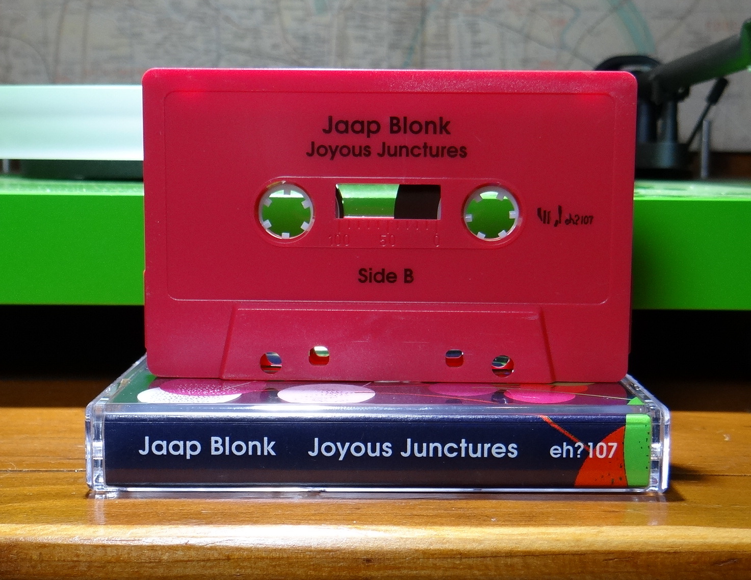 lost in a sea of sound: Jaap Blonk - Joyous Junctures
