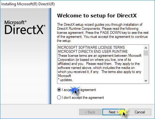 the deprecated components of microsoft directx