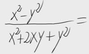 12.Simplificar una fracción con expresiones polinómicas