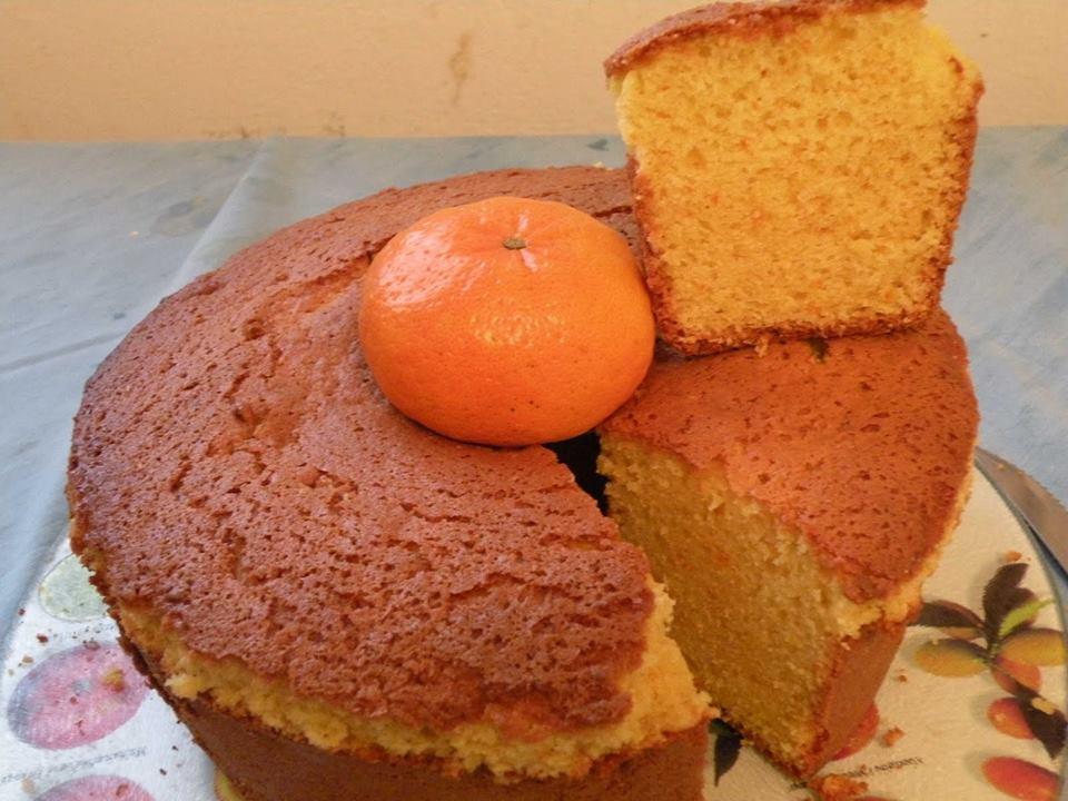 Torta de mandarinas en licuadora