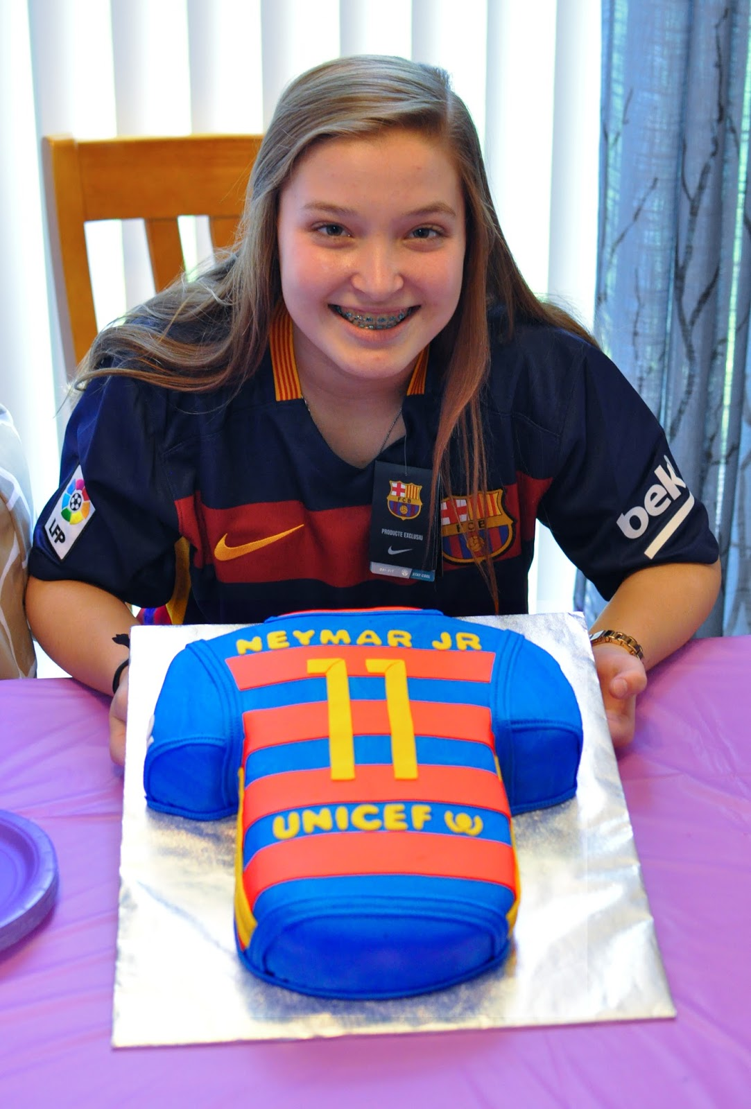 The Bake More Neymar Jr Jersey Cake