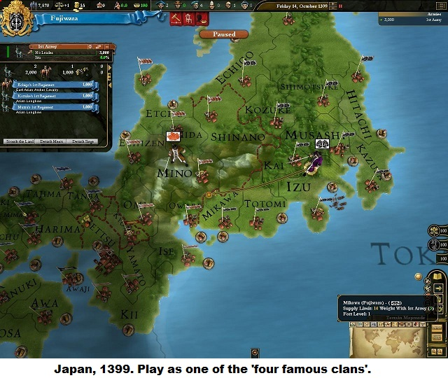 Shogun-ki: The History Of Japan-As Seen Through Paradox