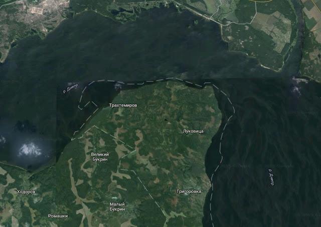 трахтемировский полуостров
