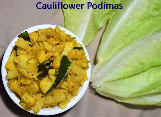 cauliflower podimas
