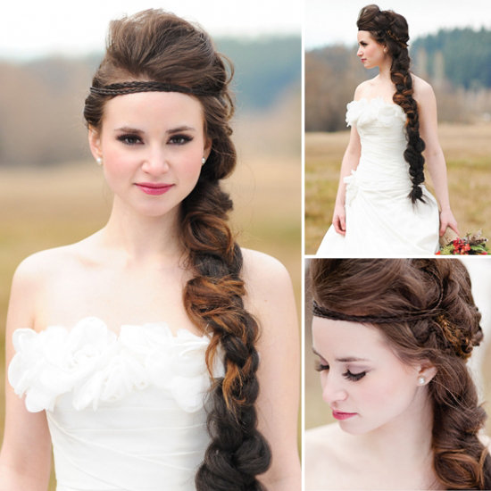 Wedding Hairstyles Games: The Hunger Games Wedding Stylist Shares Her Braiding