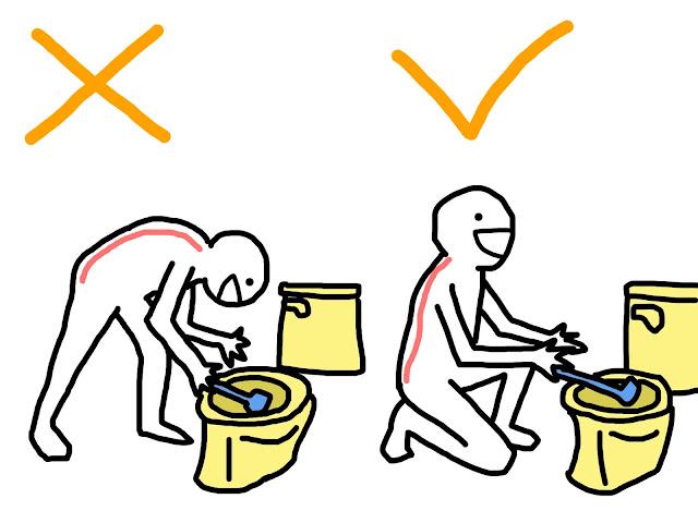 好痛痛 腰酸背痛 腰痠背痛 刷馬桶 肌肉疲勞 物理治療 打掃 過年
