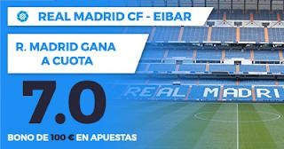 Paston Megacuota Liga Real Madrid vs Eibar 22 octubre