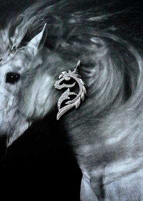 銀座ジュエリーサロンにてフルオーダーで作る趣味(馬)の世界感が美しい。