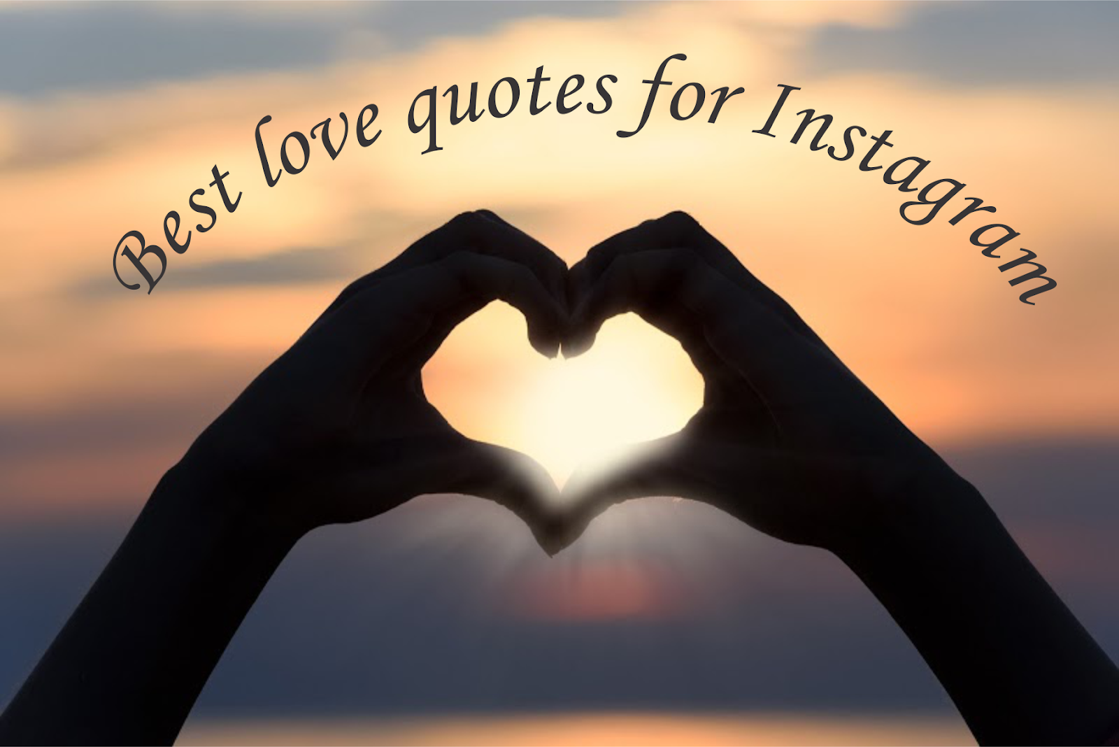 50 Best Love Quotes For Instagram