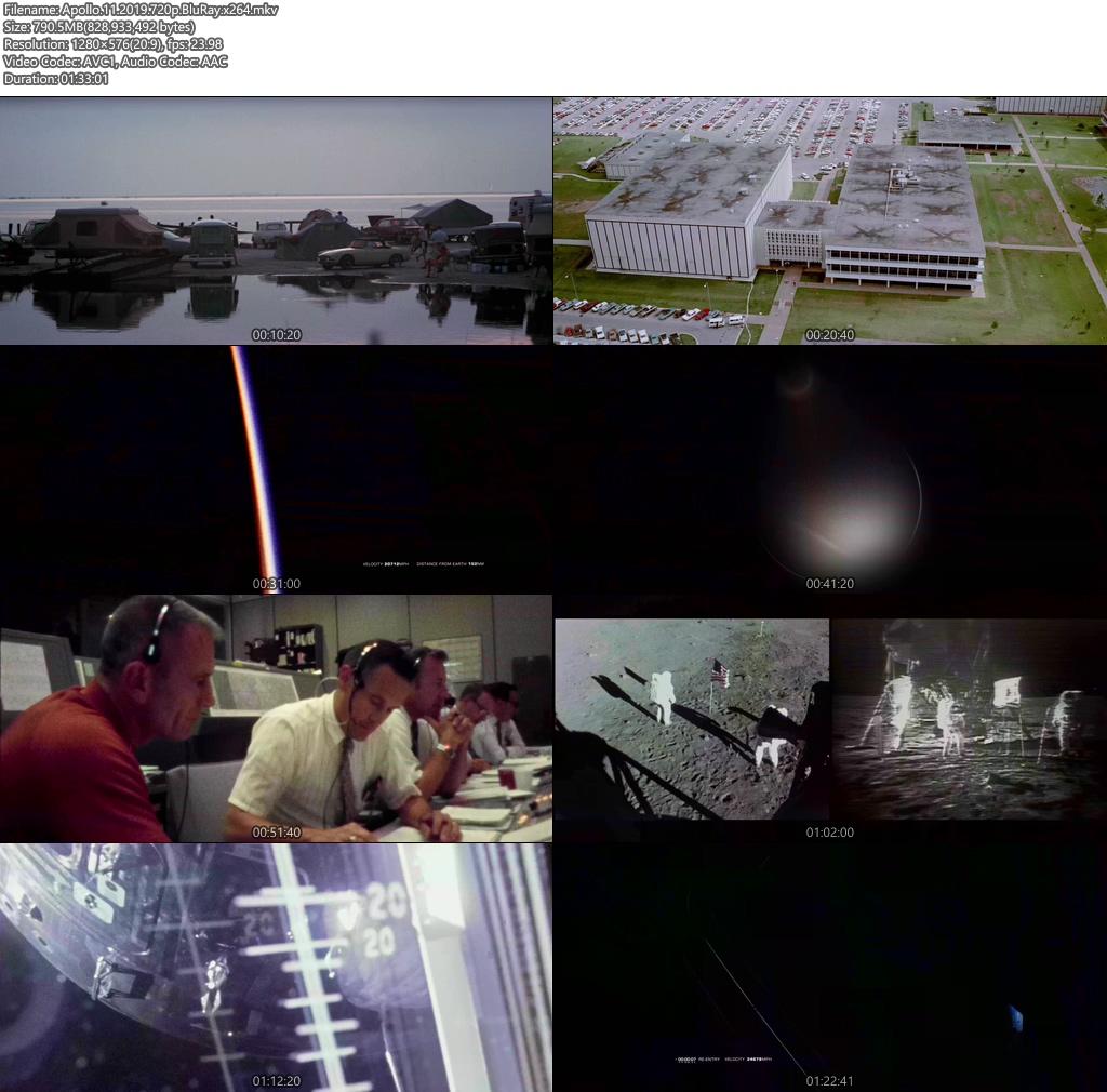 Apollo 11 2019 720p BluRay x264 | 480p 300MB | 100MB HEVC Screenshot