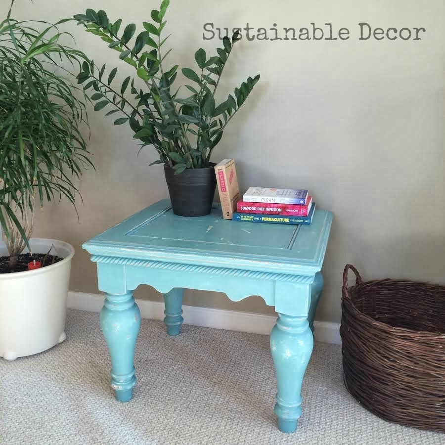 Decorating With Distressed Furniture: Sustainable Decor: Distressed Painted Furniture Redo: Yard