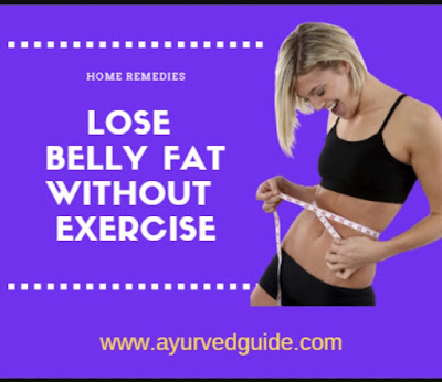 Lose Belly Fat Without Exercise