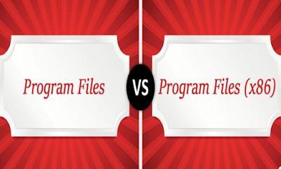 ما هو الفرق بين Program Files و Program Files x86