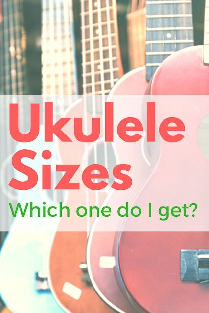 All about Ukulele Sizes: What size do I get? What's the difference?