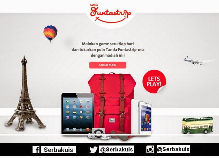 Game & Undian Tanda Funtastrip 2015 Hadiah 20 iPhone 6