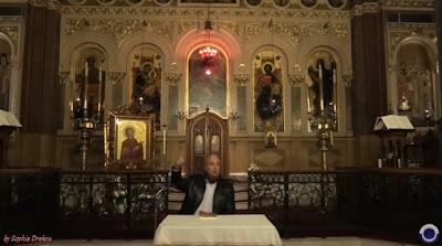 Το Μυθιστόρημα του Ν. Λυγερού «Τα τριάντα φιλιά του ήλιου» στον Άγιο Γεώργιο Κυψέλης (βίντεο)