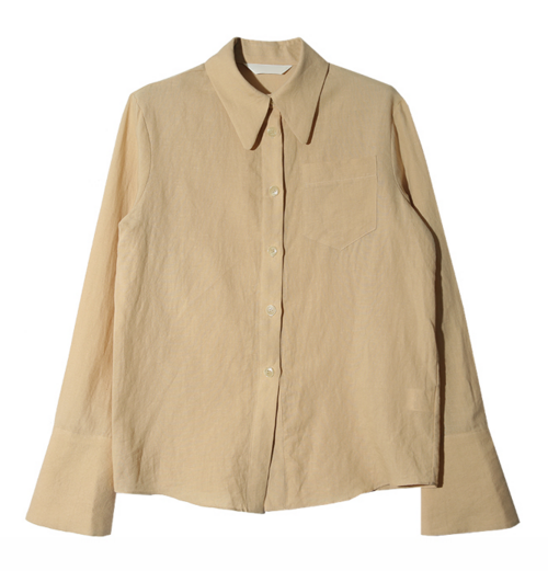 Tonal Stitch Button-Down Shirt