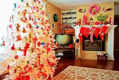 Dekorasi Pohon Natal Paling Unik