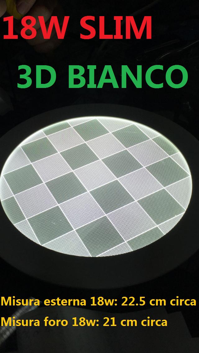 PANNELLO SLIM 18W 3D