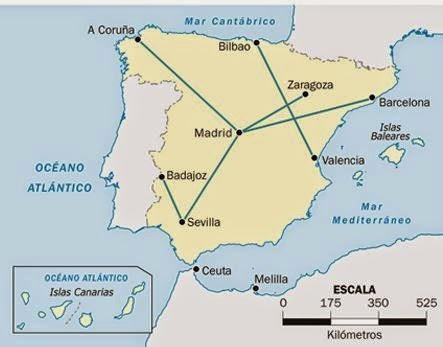 La Escala Del Mapa.Cristina Y El Mundo Escalas Planos Y Mapas