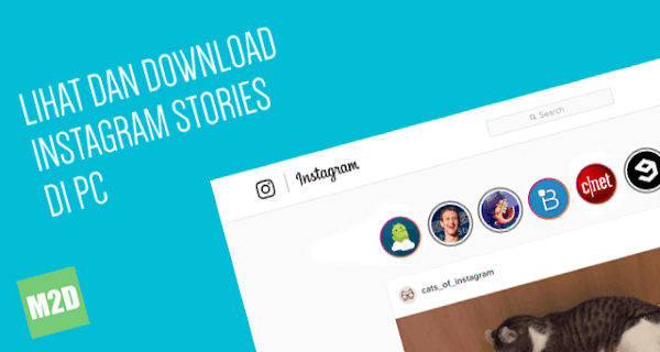 Lihat dan Unduh Instagram Stories di PC