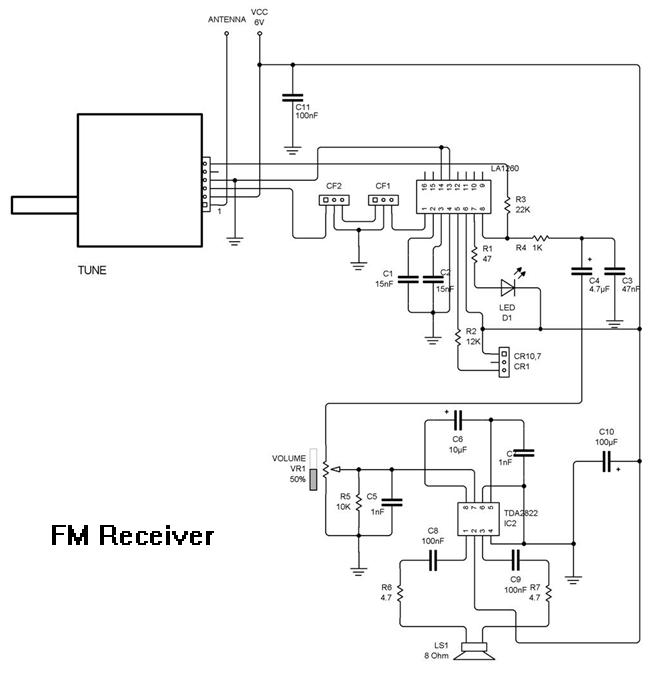 Rangkaian radio penerima fm xtrmerad skema rangkaian receiver fm ccuart Image collections