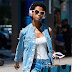 Londone Myers vai as audições para o Victoria's Secret Fashion Show 2017, em Midtown, em Nova York - 17/08/2017