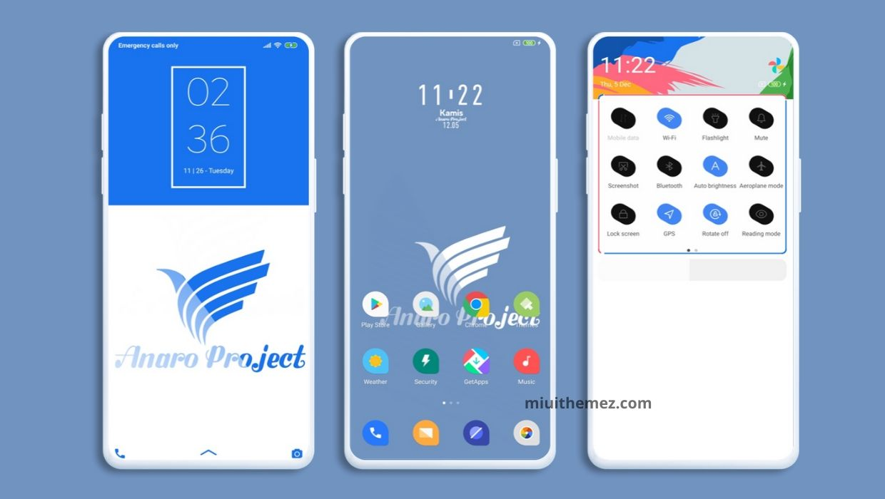 ANARO Project MIUI 11 Theme