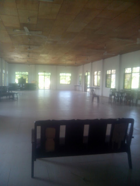 The function room at Virgin Beach Resort