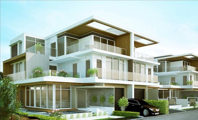 xây nhà biệt thự kiểu hiện đại