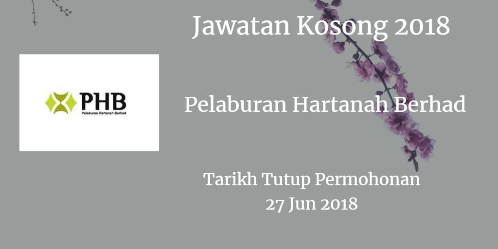 Jawatan Kosong Pelaburan Hartanah Berhad 27 Jun 2018