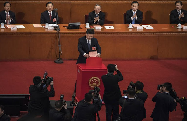 China's Legislature Blesses Xi's Indefinite Rule. It Was 2,958 to 2.