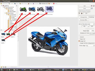 Membuat Gambar Animasi GIF Bergerak