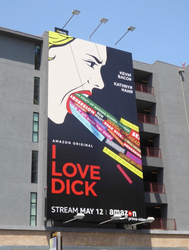 I Love Dick series launch billboard