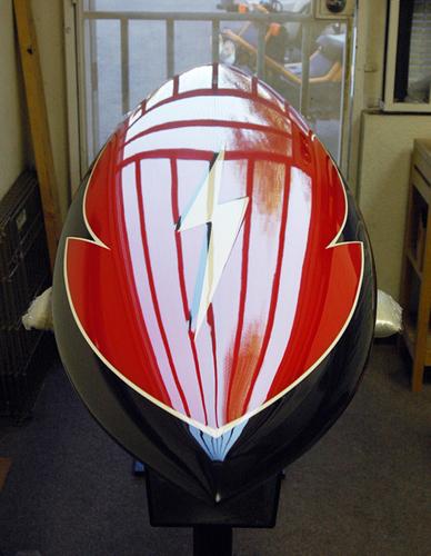 Oak Foils Custom Surfboards Tribute Lightning Bolt Pipe